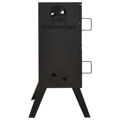 "vidaXL Smoker Oven 21.7""x18.7""x39.6"" Steel"