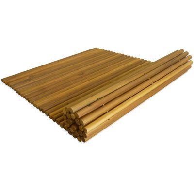 "vidaXL Bath Mat Acacia Wood 31.5""x19.7"""