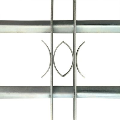 """Adjustable Security Grille for Windows with 2 Crossbars 39.4""""-59.1"""""""