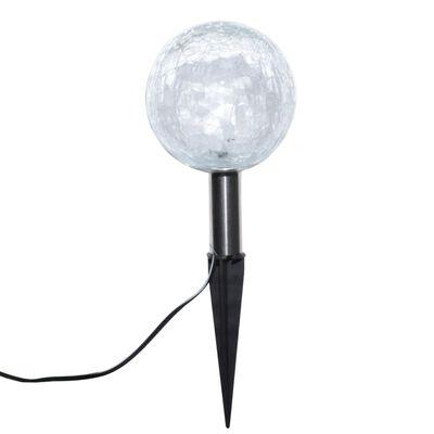 vidaXL Garden Lights 6 pcs LED with Spike Anchors & Solar Panels