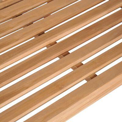 """vidaXL Swing Bench Solid Teak 47.2""""x23.6""""x22.6"""" Brown"""