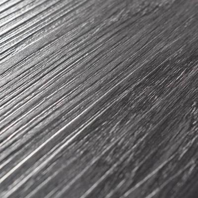 "vidaXL Self-adhesive PVC Flooring Planks 54 ft² 0.08"" Black and White"