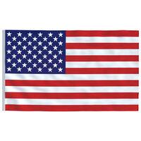 "vidaXL US Flag 35.4""x59.1"""