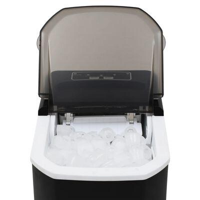vidaXL Ice Cube Maker Black 0.4gal 33.1 lbs / 24 h