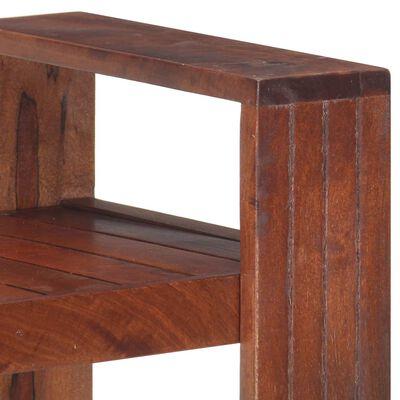 "vidaXL Book Cabinet Honey Brown 33.1""x11.8""x35.4"" Solid Acacia Wood"