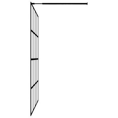 "vidaXL Walk-in Shower Screen Tempered Glass 39.4""x76.8"""