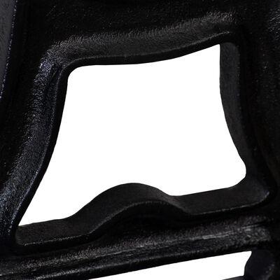 vidaXL Bench Legs 2 pcs Y-Frame Cast Iron
