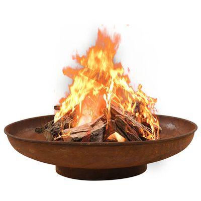"""vidaXL Fire Pit 31.5"""" Steel"""