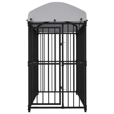 """vidaXL Outdoor Dog Kennel with Roof 59.1""""x39.4""""x68.9"""""""