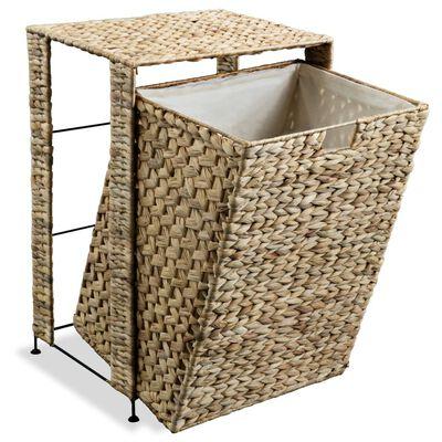 "vidaXL Laundry Basket 17.3""x13.4""x25.2"" Water Hyacinth"