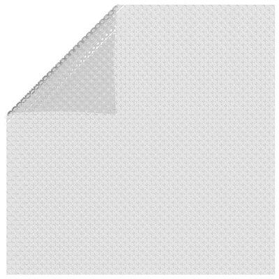 "vidaXL Floating PE Solar Pool Film 216.1""x107.9"" Gray"