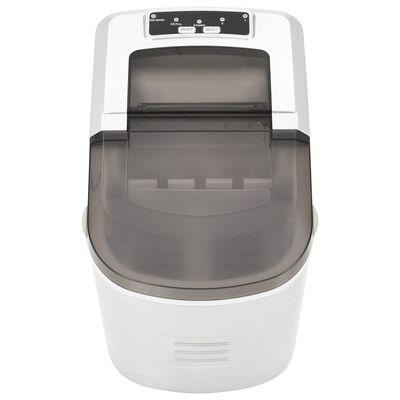 vidaXL Ice Cube Maker Silver 0.6gal 33.1 lbs / 24 h