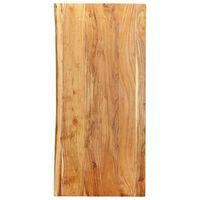 """vidaXL Bathroom Vanity Top Solid Acacia Wood 47.2""""x21.7""""x1"""""""