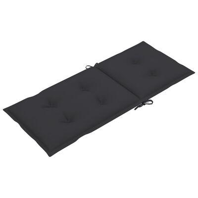 "vidaXL Garden Chair Cushions 4 pcs Anthracite 47.2""x19.7""x2.8"""