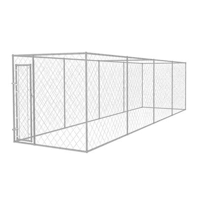 vidaXL Outdoor Dog Kennel 25'x6'x6.6'