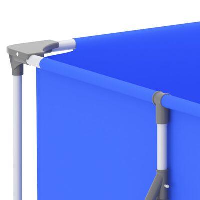 "vidaXL Swimming Pool with Steel Frame 155.1""x81.5""x31.5"" Blue"