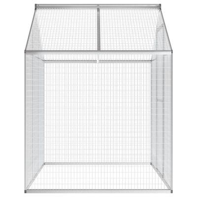 """vidaXL Outdoor Aviary Aluminium 70.1""""x48""""x76.4"""""""