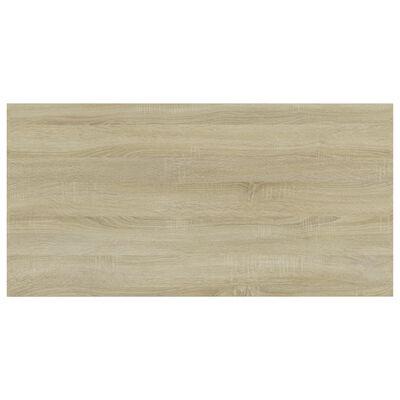 """vidaXL Bookshelf Boards 8 pcs Sonoma Oak 31.5""""x15.7""""x0.6"""" Chipboard"""