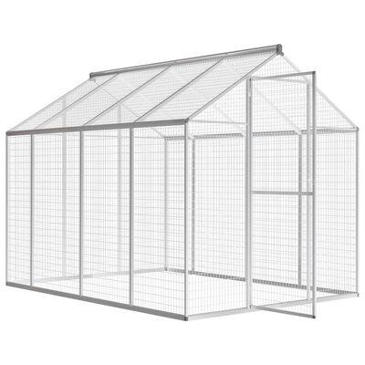 """vidaXL Outdoor Aviary Aluminum 70""""x95.3""""x75.6"""""""