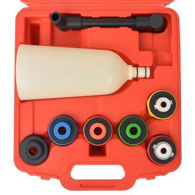 vidaXL Eight Piece Engine Oil Filler Set