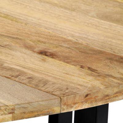 "vidaXL Dining Table 47.2""x28.7"" Solid Mango Wood"