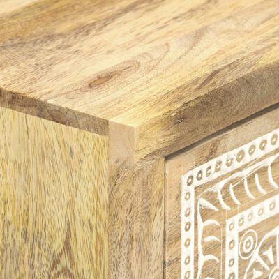 """vidaXL Sideboard 23.6""""x13.8""""x29.5"""" Solid Mango Wood"""