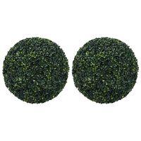 """vidaXL Artificial Boxwood Balls 2 pcs 20.5"""""""