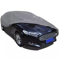vidaXL Car Cover Nonwoven Fabric L