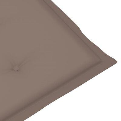 """vidaXL Garden Chair Cushions 6 pcs Taupe 39.4""""x19.7""""x1.6"""""""