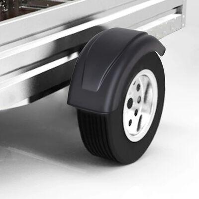 "vidaXL Mudguard 2 pcs for Trailer Wheels 6.7""x22.8"""