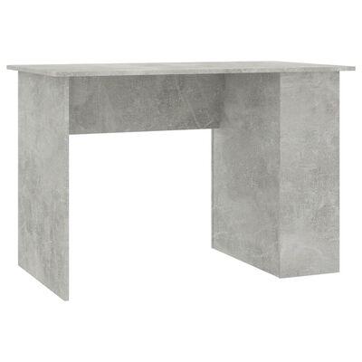 "vidaXL Desk Concrete Gray 43.3""x23.6""x28.7"" Chipboard"