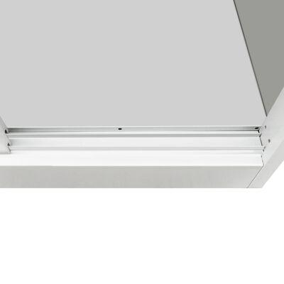 """vidaXL Office Cabinet with Sliding Doors Metal 35.4""""x15.7""""x35.4"""" Gray"""