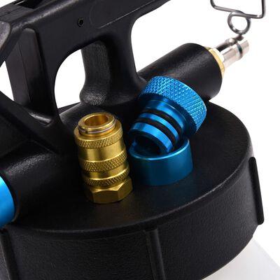 vidaXL Pneumatic Brake Bleeder Extractor Pump with Filler Bottle 0.92 gal