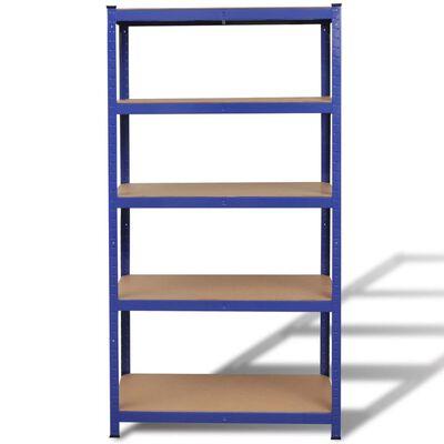 vidaXL Storage Shelf Blue