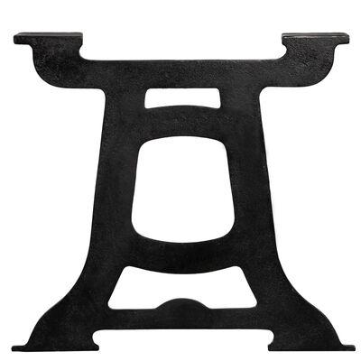 vidaXL Coffee Table Legs 2 pcs Y-Frame Cast Iron