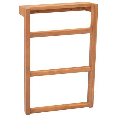 vidaXL Towel Racks 2 pcs Solid Teak Wood