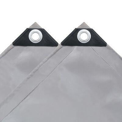 vidaXL Tarpaulin 650 g/m² 9.8'x19.7' Gray