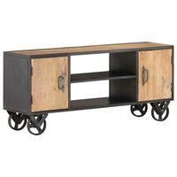 "vidaXL TV Cabinet 43.3""x11.8""x19.3"" Solid Reclaimed Wood"