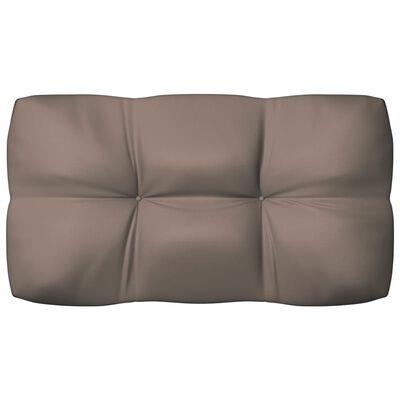 vidaXL Pallet Sofa Cushions 3 pcs Taupe