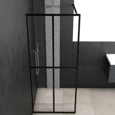 "vidaXL Walk-in Shower Screen Tempered Glass 55.1""x76.8"""