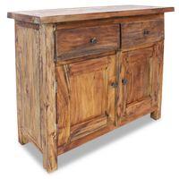 """vidaXL Sideboard Solid Reclaimed Wood 29.5""""x11.8""""x25.6"""""""