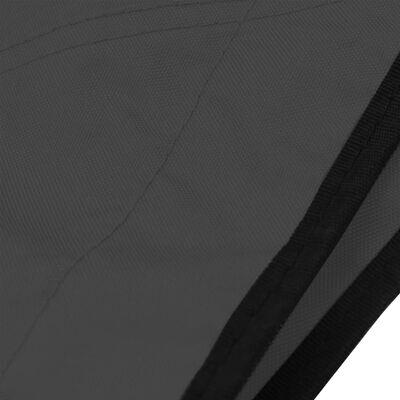 "vidaXL 4 Bow Bimini Top Anthracite 95.7""x77.2""x53.9"""