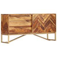 """vidaXL Sideboard 46.5""""x11.8""""x23.6"""" Solid Sheesham Wood"""