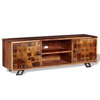 "vidaXL TV Cabinet Solid Sheesham Wood 47.2""x11.8""x15.7"""