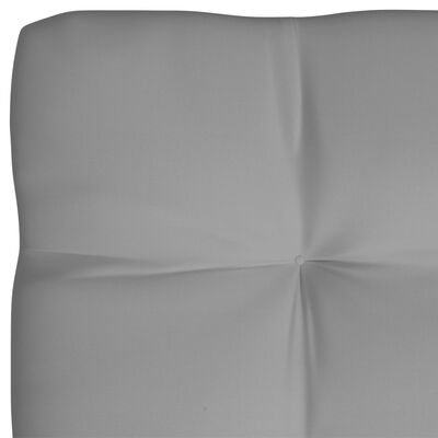vidaXL Pallet Sofa Cushions 3 pcs Gray