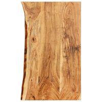 """vidaXL Bathroom Vanity Top Solid Acacia Wood 39.4""""x21.7""""x1.5"""""""