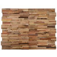 vidaXL 10 pcs Wall Cladding Panels 10.8 ft² Recycled Teak