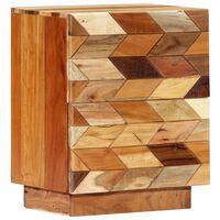 "vidaXL Bedside Cabinet 15.8""x11.8""x19.7"" Solid Reclaimed Wood"