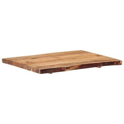 """vidaXL Table Top Solid Acacia Wood 31.5""""x(19.7""""-23.6"""")x1.5"""""""